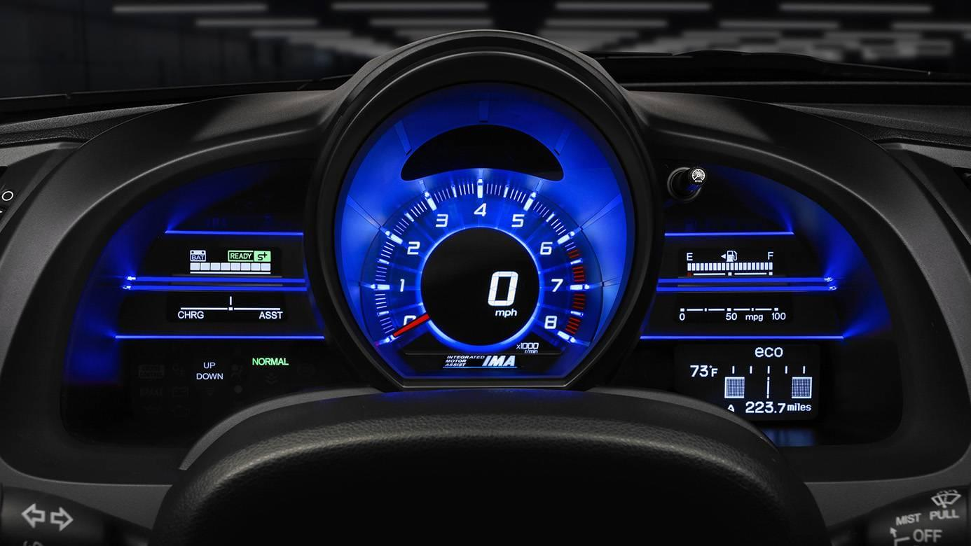 2016 Honda CR-Z Interior Dashboard