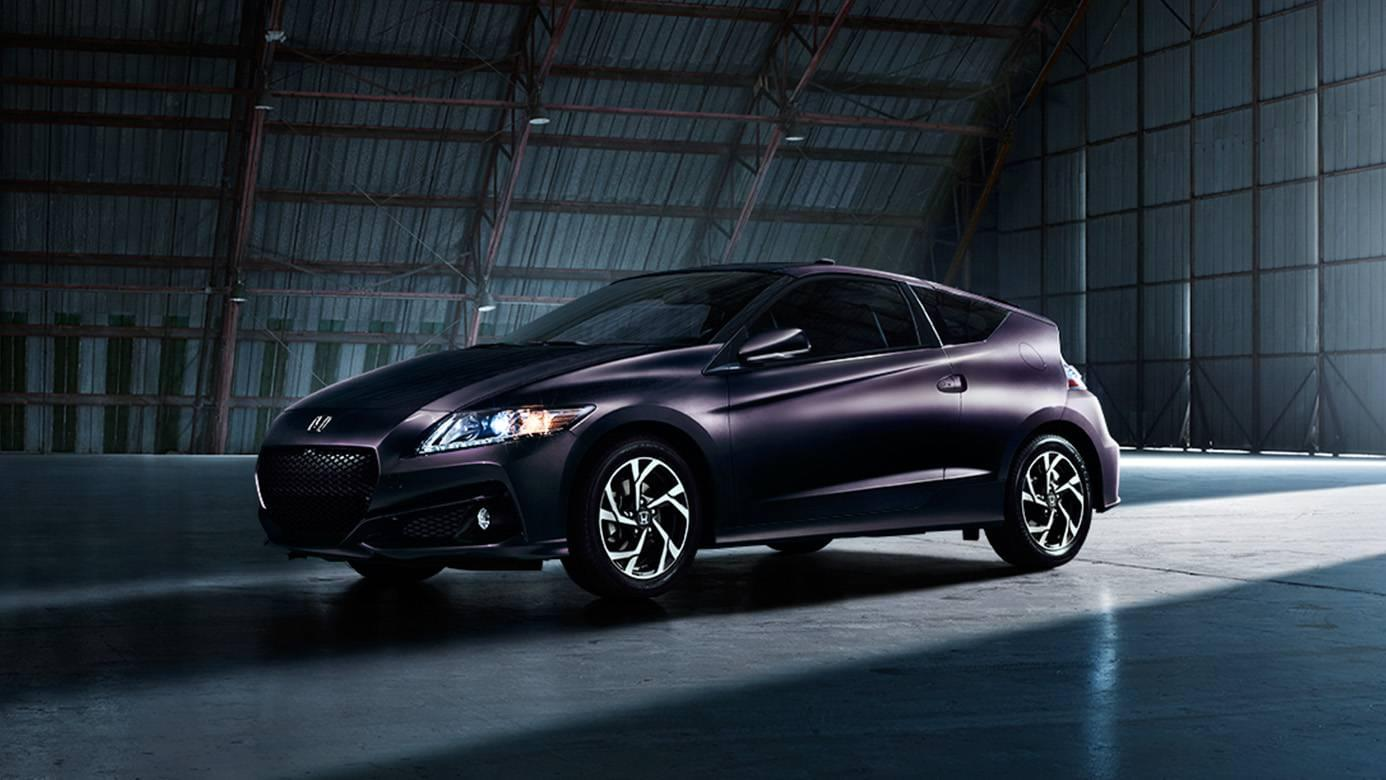 2016 Honda CR-Z Side Exterior Purple