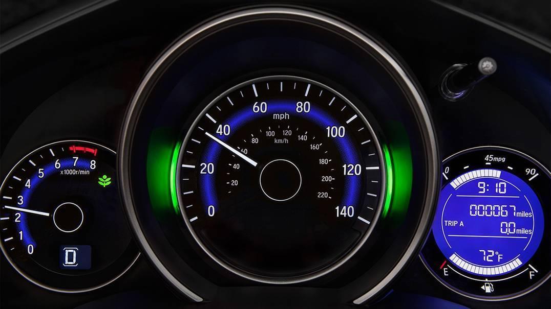 2016 Honda Fit Dashboard Interior