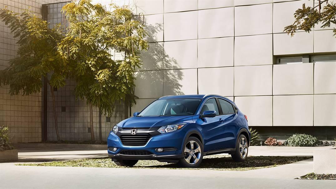 2016 Honda HR-V Exterior Blue