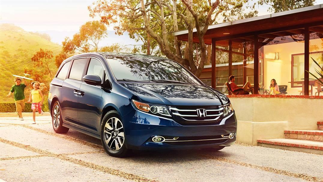 2016 Honda Odyssey Blue Exterior Front