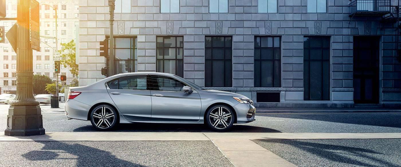2017 Honda Accord Sport Silver Exterior Side View
