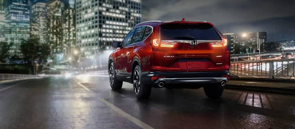 2017 Honda CR-V Rear Exterior Red