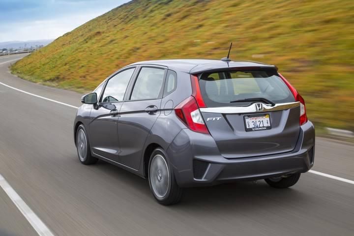 2017 Honda Fit EX-L Gray Rear Exterior
