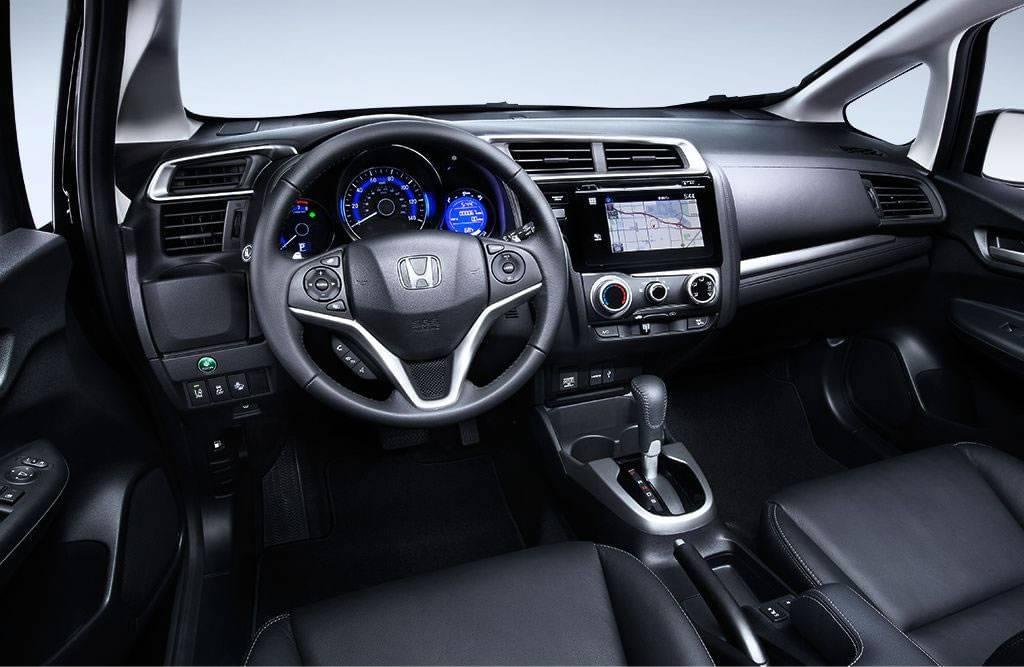 2017 Honda Fit Interior Front