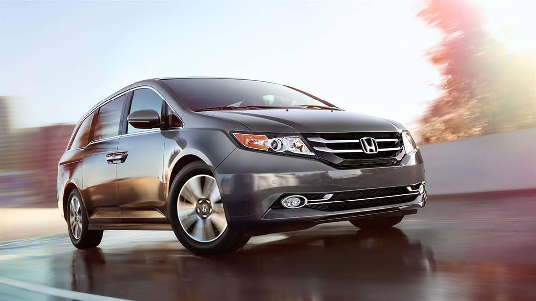 2017 Honda Odyssey Gray Front Exterior