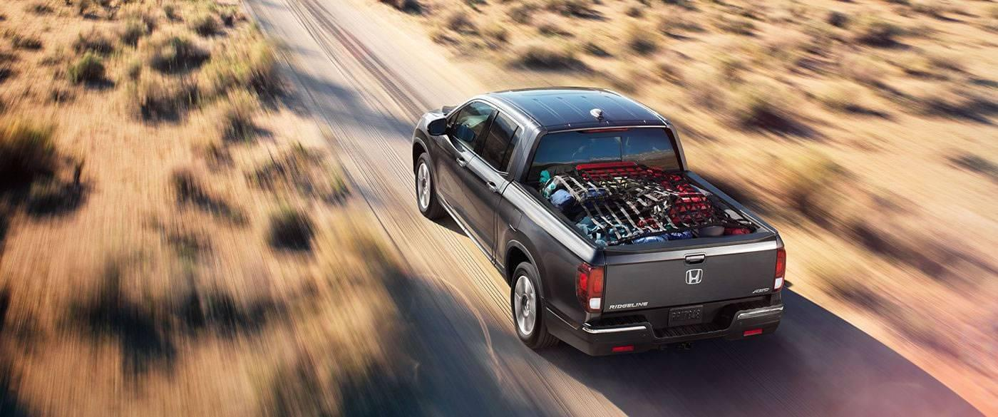 2017 Honda Ridgeline Exterior Rear Pickup