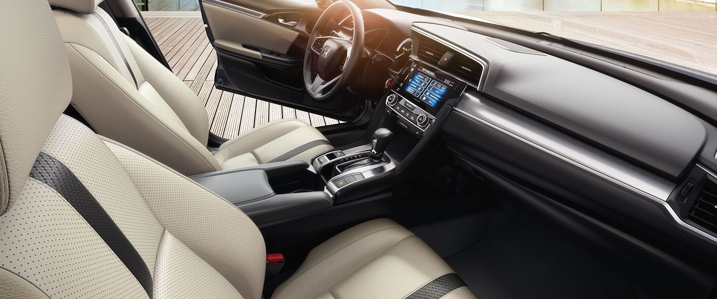 2017 Honda Civic Sedan EX-T Interior Front Detail