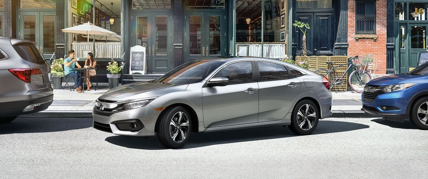 2017 Honda Civic Sedan EX-T Silver Exterior Side