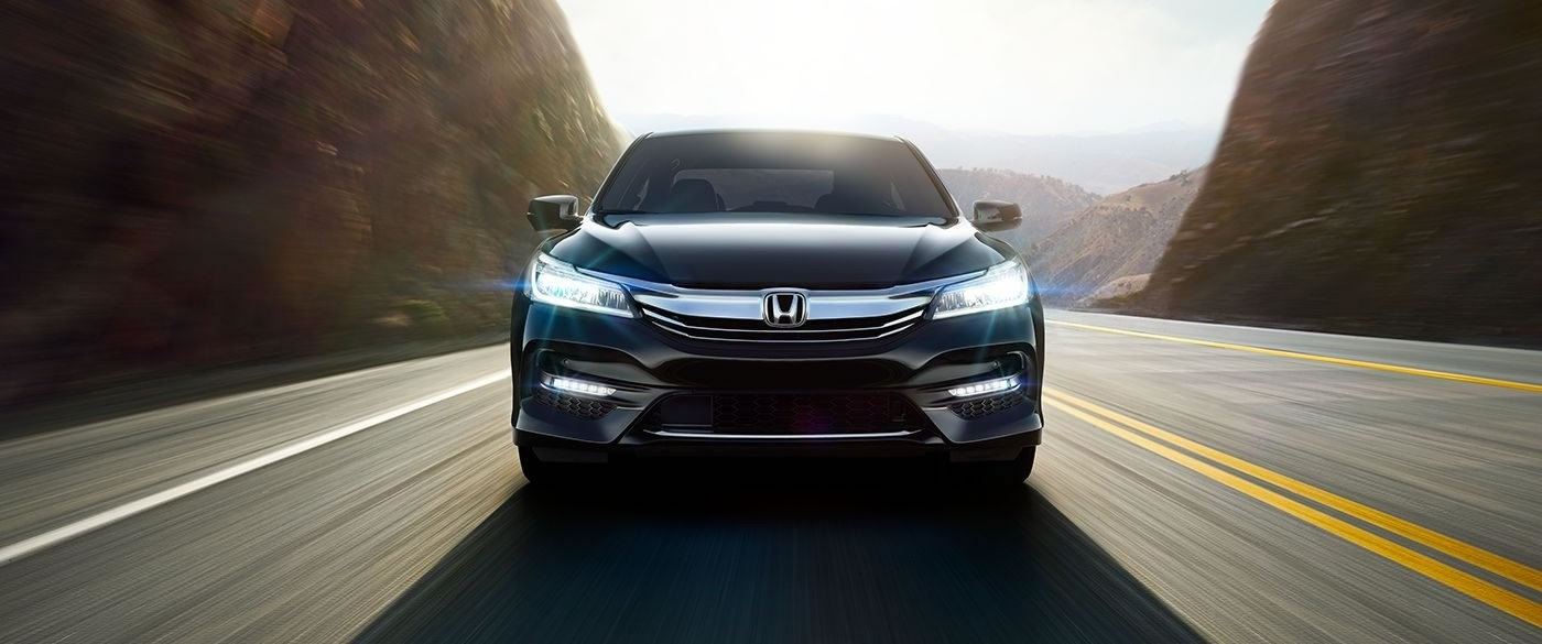 2017 Honda Accord Sedan LX Black Exterior Front Profile