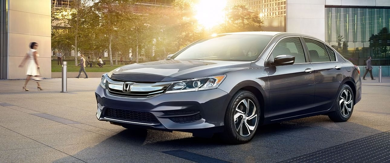 2017 Honda Accord Sedan LX Gray Exterior Front View