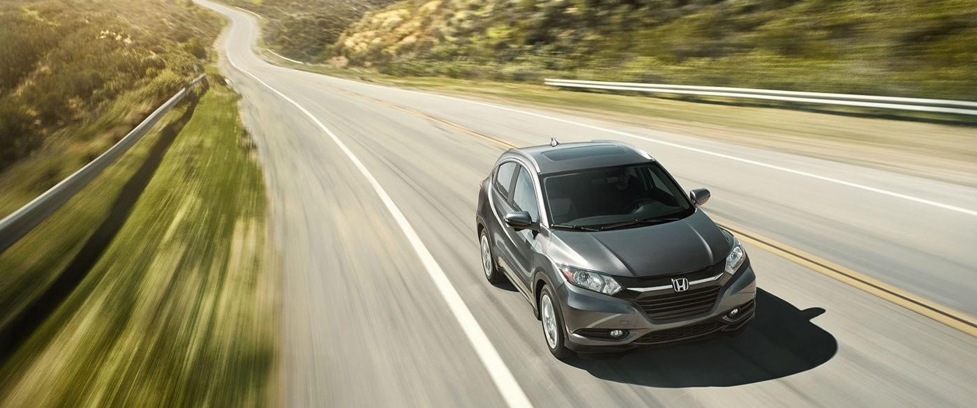 2017 Honda HR-V EX Gray Exterior Front View