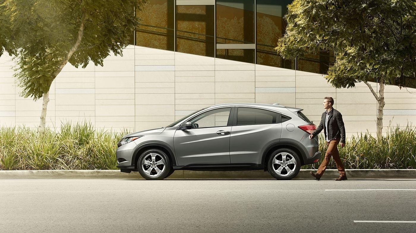 2017 Honda HR-V EX Silver Exterior Side Profile