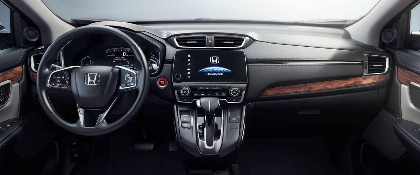 2017 Honda CR V EX Interior Dash and Steering