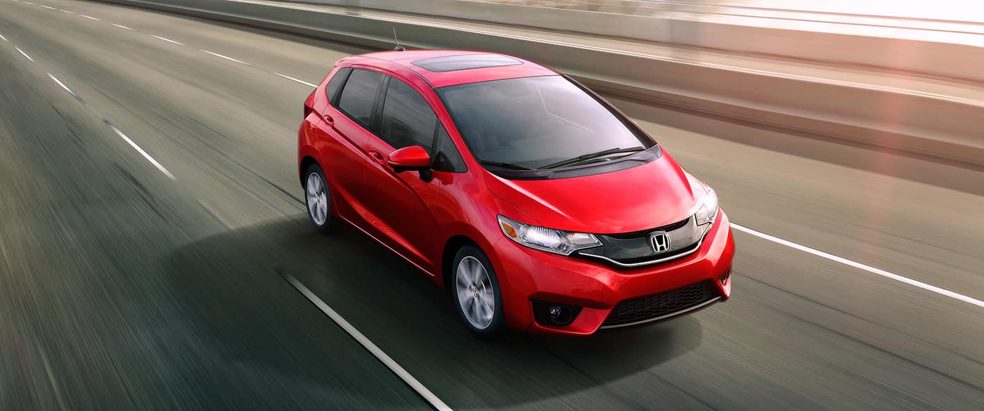 2017 Honda Fit Red Exterior Front View