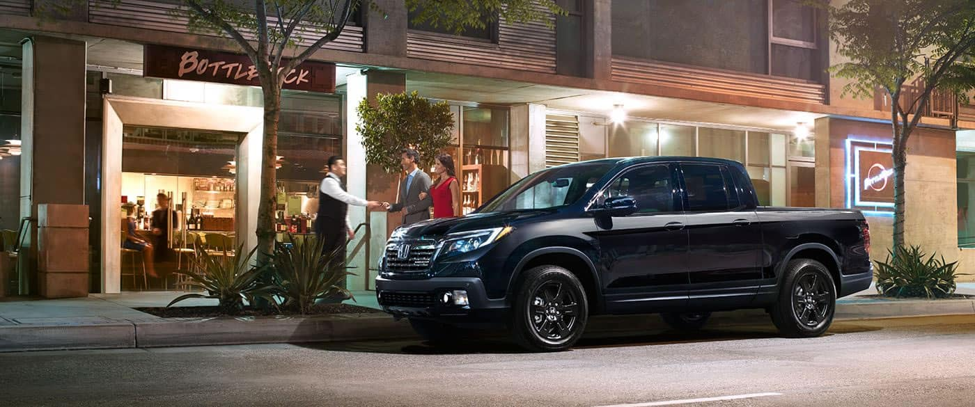 2017 Honda Ridgeline Black Edition Exterior Side View