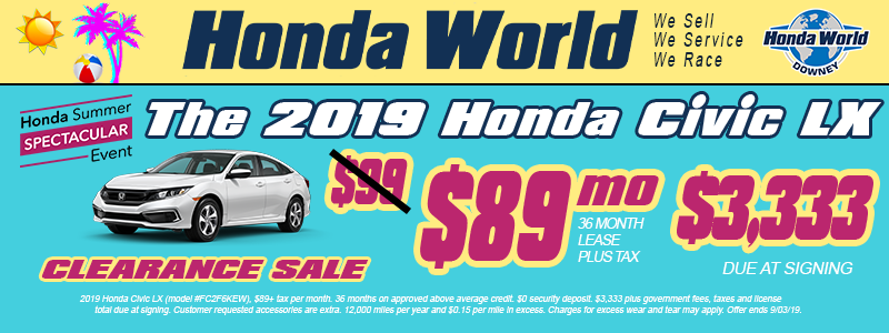 Honda Dealership Orange County >> Honda World Downey New Used Honda Dealer In Los Angeles County Ca