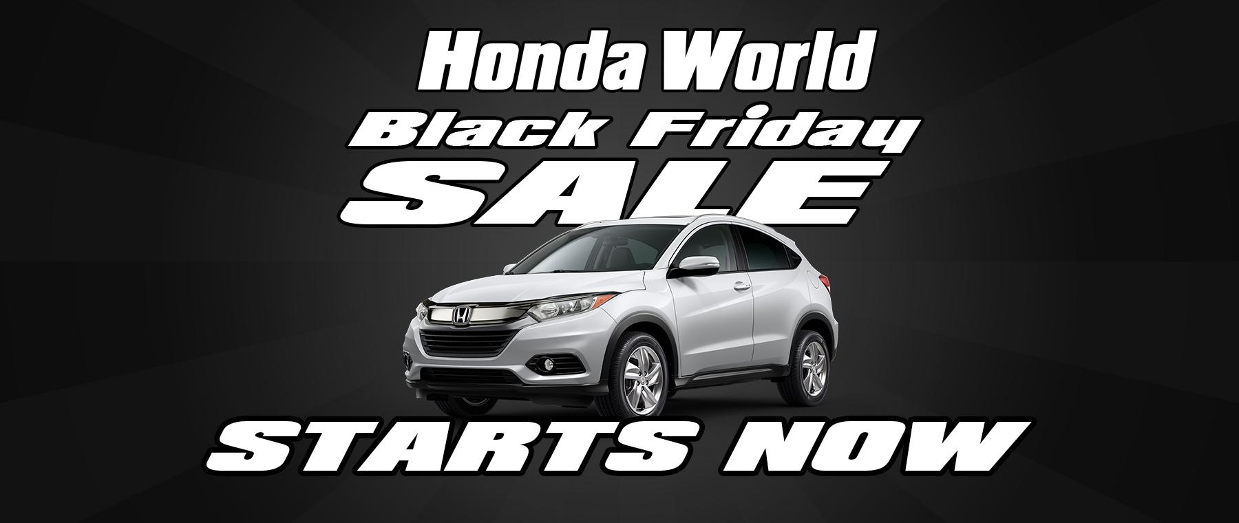 Honda Black Friday Sale Starts Now