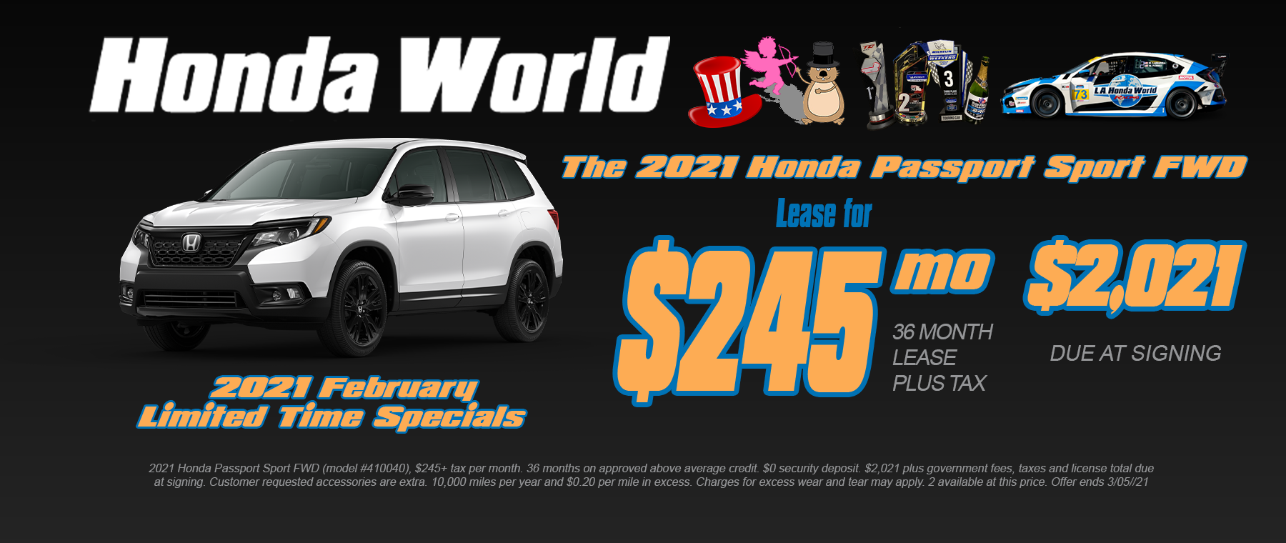 Honda Lease Special Los Angeles