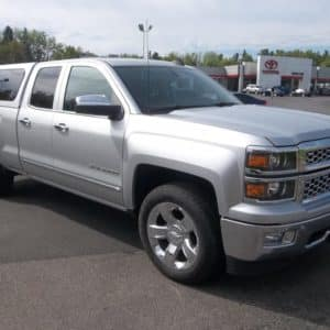 Chevrolet vehicle repaired by Hoselton Collision