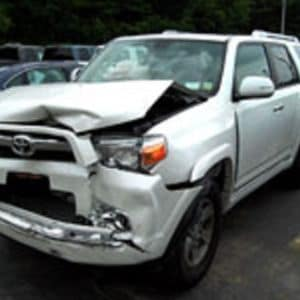 Hoselton Collision Toyota after crash