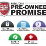 Hoselton's Pre-Owned Promise