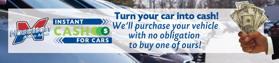 We'll buy your vehicle even if you don't buy from us