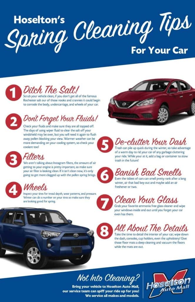 Spring cleaning for your vehicle