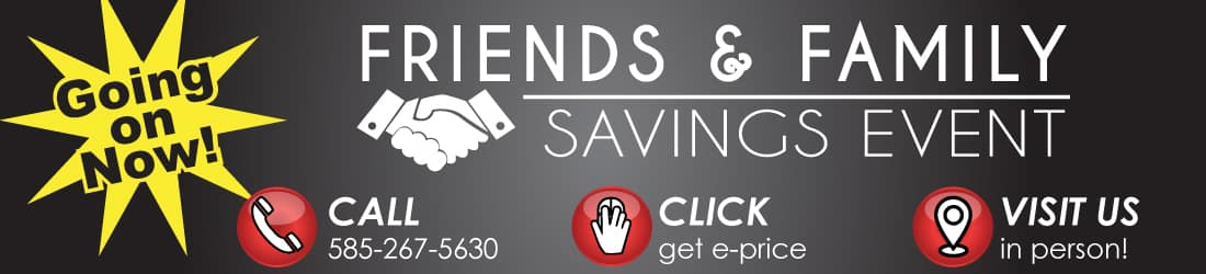 Friends and Family Savings Event this May at Hoselton!