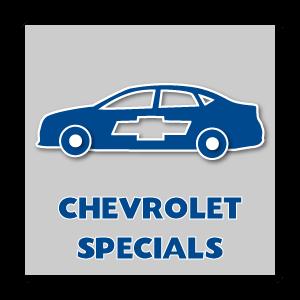 New Chevrolet Specials