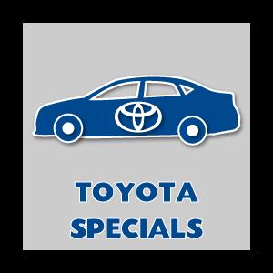 New Toyota Specials