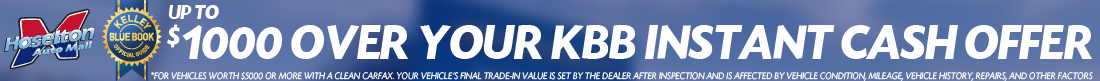 Get your Kelley Blue Book Instant Cash Offer