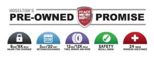 Hoselton's Pre-Owned Promise logo