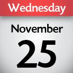November 25, 2020