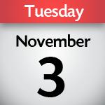 November 3, 2020