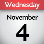 November 4, 2020