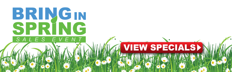 Bring in Spring at Hoselton Toyota