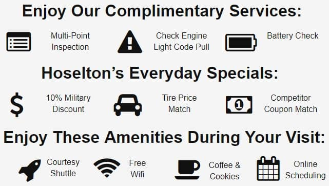 Toyota Service Coupons >> Auto Service Specials Near Rochester Hoselton Toyota