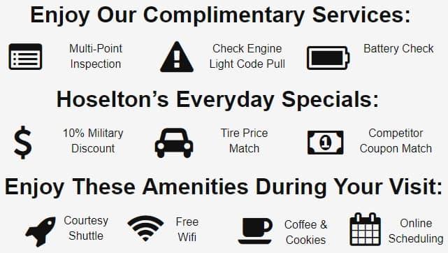 Hoselton Toyotas's Specials