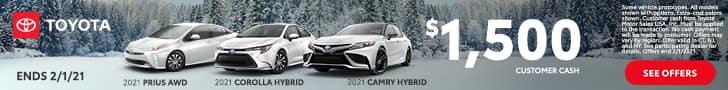 Toyota, Camry Hybrid, Corolla Hybrid, Prius