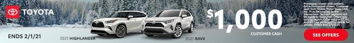 Toyota, Highlander, RAV4