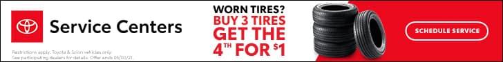 Toyota, Tire Event
