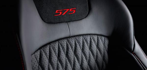 Jaguar XJ575 interior