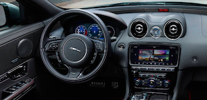 2018 Jaguar XJ dashboard