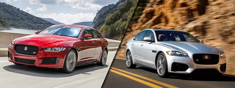 2018 Jaguar XE vs 2018 Jaguar XF
