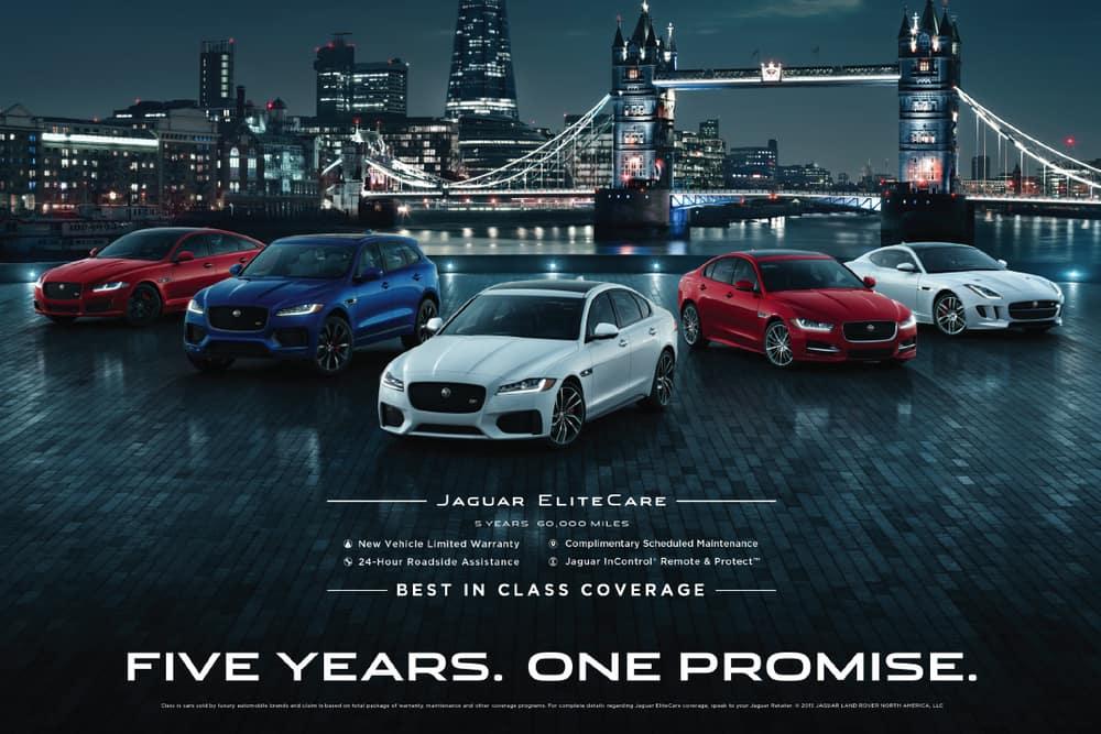 Jaguar EliteCare Coverage Parameters