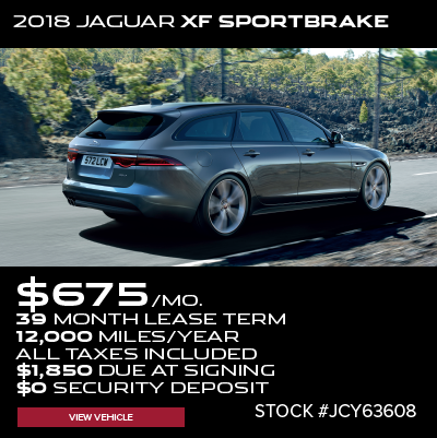 New 2018 Jaguar XF Sportbrake S AWD
