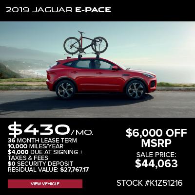 New 2019 Jaguar E-PACE S AWD