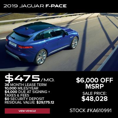 New 2019 Jaguar F-PACE 25t Premium AWD
