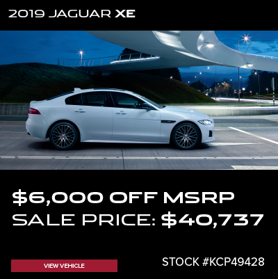 New 2019 Jaguar XE 25t Premium RWD 4D Sedan